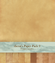 Paper Pack 9 by dierat