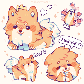 + pooft + by MellowKun