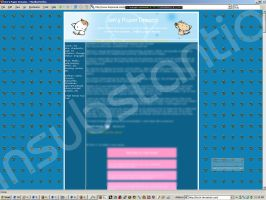 Livejournal layout by fox0r