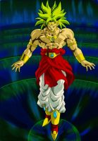 Broly Renewed by SouthernDesigner