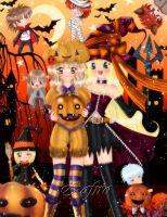 .:Halloween 2011:. by Zafiro-Chan