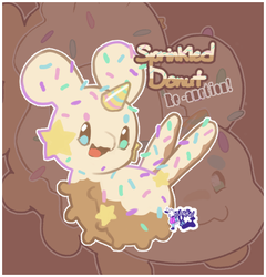 Re-Auction: Sprinkled Donut [CLOSED] by Nokkelborth