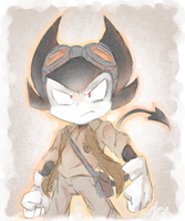 BABTQFTIM Bendy (Watercolor Effect) by thegreatrouge