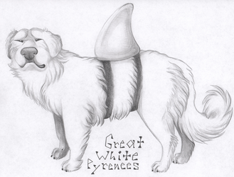 Great White Pyrenees by Leonca