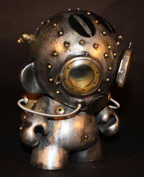 Aqua Robot Munny - 06 by Harris-Built