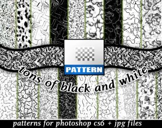 Patterns Black And White by roula33