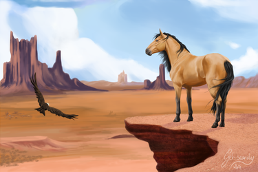 Stallion of the Cimarron by Get-scared-now