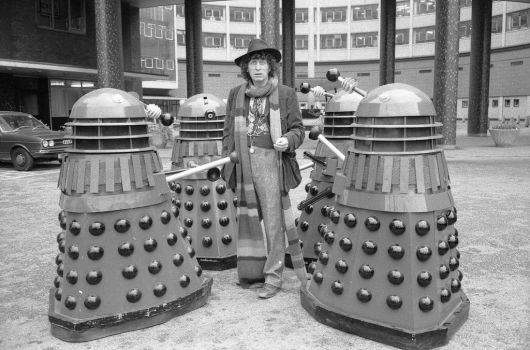 The Doctor And The Daleks by Calypso1977