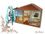 MMD Accessory Doll House by innaaleksui