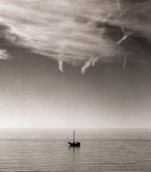 Yacht and Clouds by danhortonszar