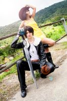 FINAL FANTASY VIII || Squall and Selphie #2 by yukisaragi