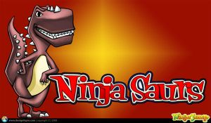 Ninjasaurs by designfxpro