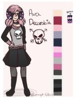 {OC Reference} Ava by Corrupt-Ghost