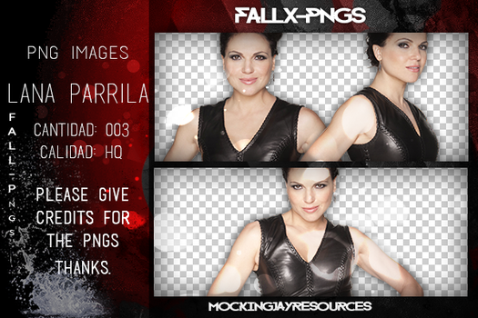 Pack Png 108: Lana Parrilla. by Fallx-pngs