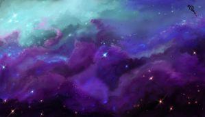 Space 2 (Dream) by Irbisty