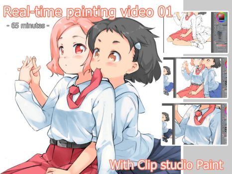 Real-time painting video 01 by garun