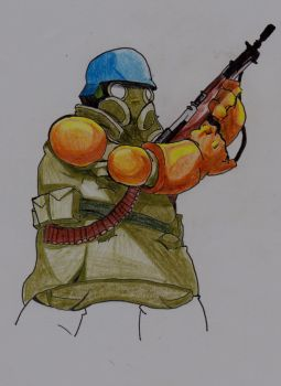 Battle Nations Soldier by JasonW129