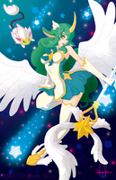 Soraka Star Guardian by NearTARC