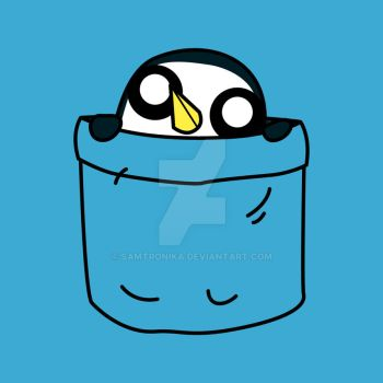Gunter In A Pocket by SaMtRoNiKa