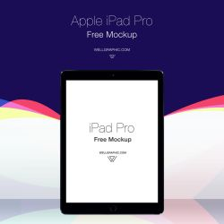 Apple iPad Pro Mockup PSD by wellgraphic
