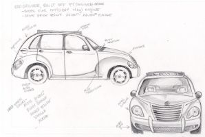 PT Cruiser modification by skycladstrega