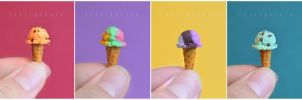 miniature ice cream I by FatalPotato