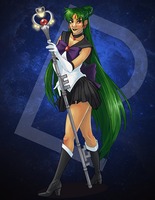 Sailor Pluto 01 by 9ofcups