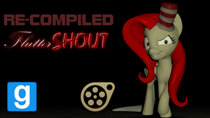 [GMOD SFM DL] Recompiled Fluttershout by Optimus97