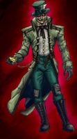 Mad Hatter in colour Batman Re-Image Wave 5 by dushans