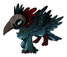 MM Qvi 003 Spoopy Raven by QviCreations