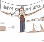 [Animation] Happy Birthday Jason by StaticColour