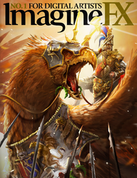 ImagineFX - Total War: Warhammer cover by telthona