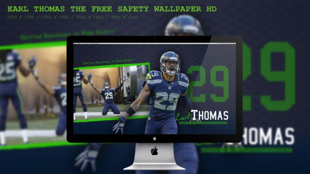 Earl Thomas The Free Safety Wallpaper HD by BeAware8