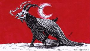 Goat ov the Sabbat by satanen