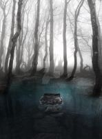Pond forest - stock by Consuelo-Parra