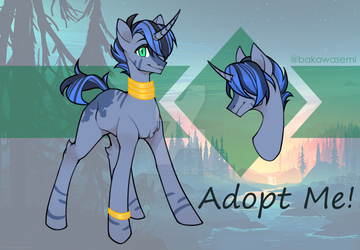 [CLOSED] Next Gen Pony Adopt - Luna x Zecora by InkyNotebook