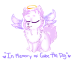 In Memory of Gabe the Dog by mustard0