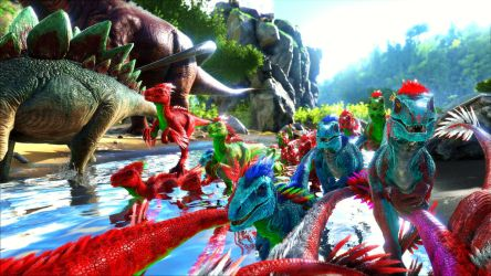ARK Ansel - Rainbow Stampede by Rebecca1208