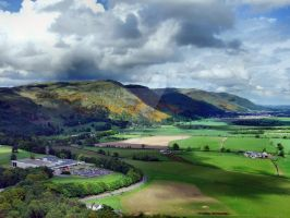 Ochil Hills, Near Stirling - Scotland by heresjohnny999