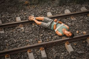 On the railroad (part I) by aviFerra
