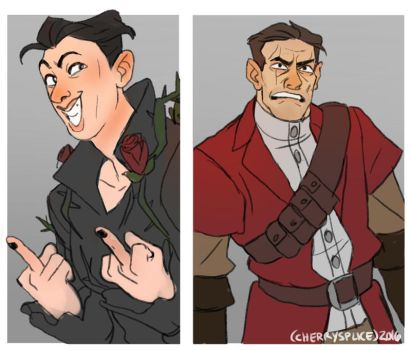 DISHONORED: My Lovely Nemesis by cherrysplice