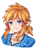 BotW Link by Obily