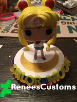 Prototype Sailor Moon Pop base by ReneesCustoms