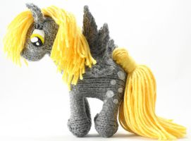 First Derpy Hooves - Knitted Plush by SparkAbsurd