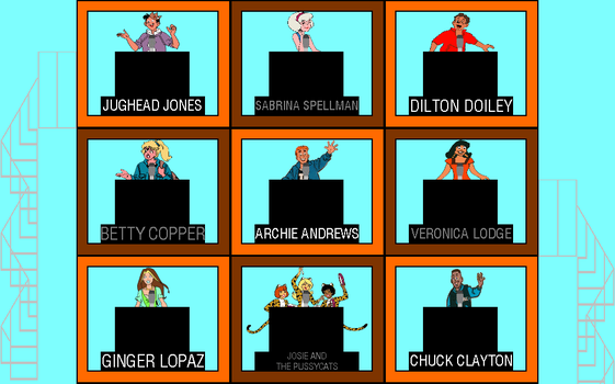 Archie Hollywood Squares by mrentertainment