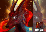 [C] Nat'Zol Portrait Icon by Moltenchier