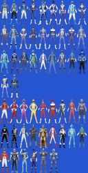 All Noah's Possible Ranger Modes by Dishdude87