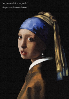 ''Girl With a Pearl Earring'' (Johannes Vermeer) by Fan2sushis