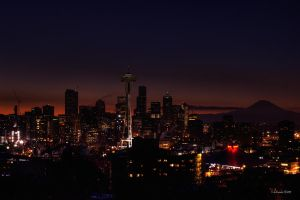 Cold Seattle Jan 02 by UrbanRural-Photo