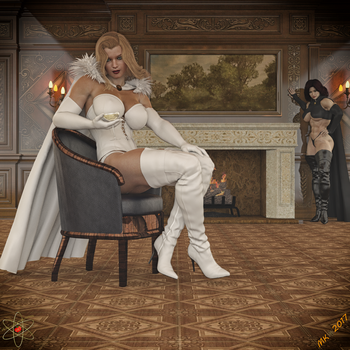 LQ's Halloween Bash Teaser: The Two Queens by Lady-Quantum